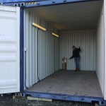 20ft Container with lighting and electric.