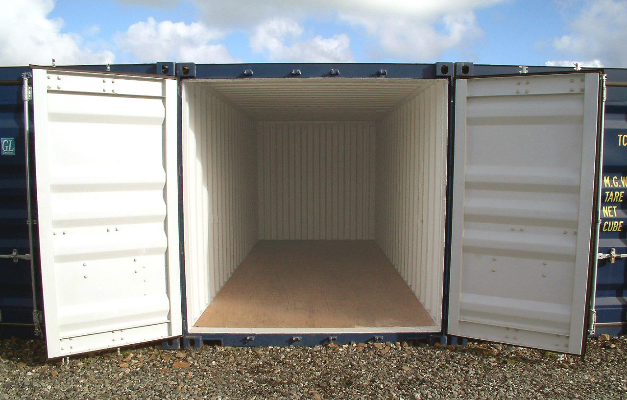 Bude self storage gallery blog self storage and for Tall shipping container